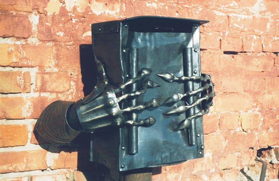 почтовые ящики своими руками из металла фото сейчас, после длительных
