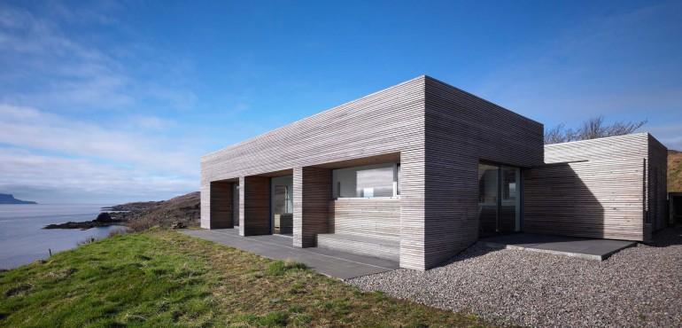 Дом на острове в Шотландии