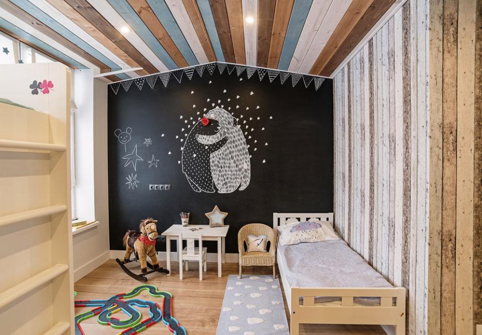 Детская комната для мальчика своими руками
