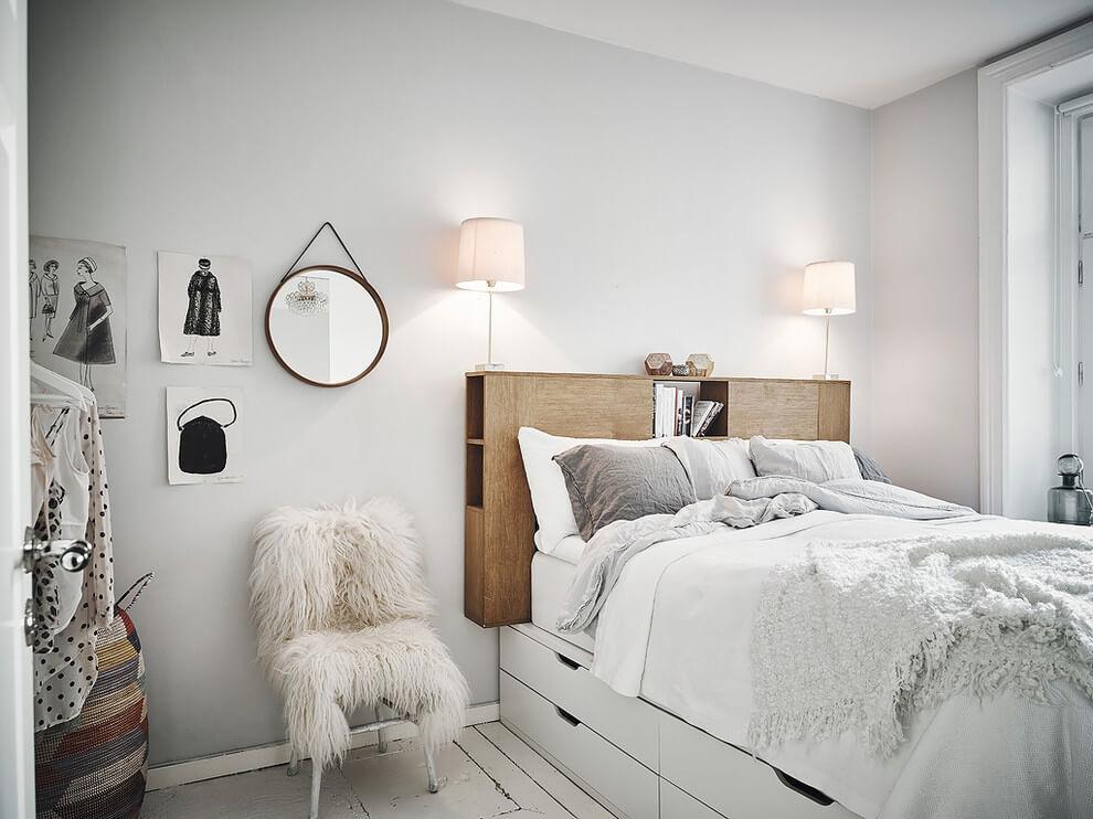 интерьер маленькой спальни своими руками