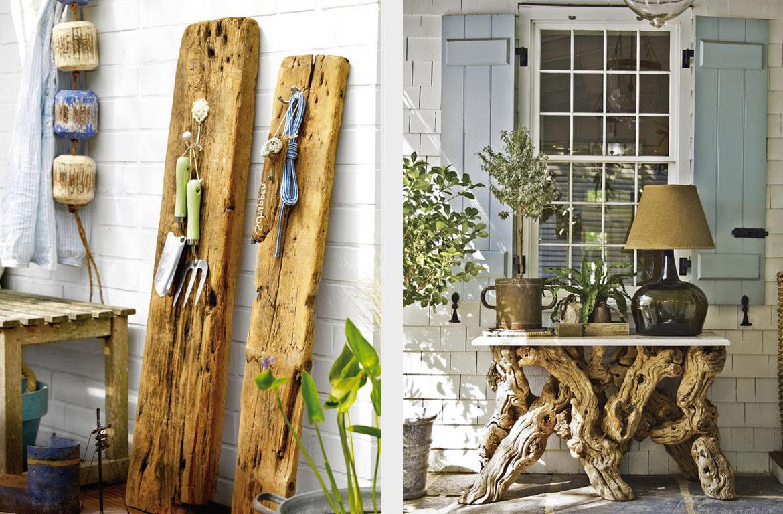 32 способа применения дерева в интерьере