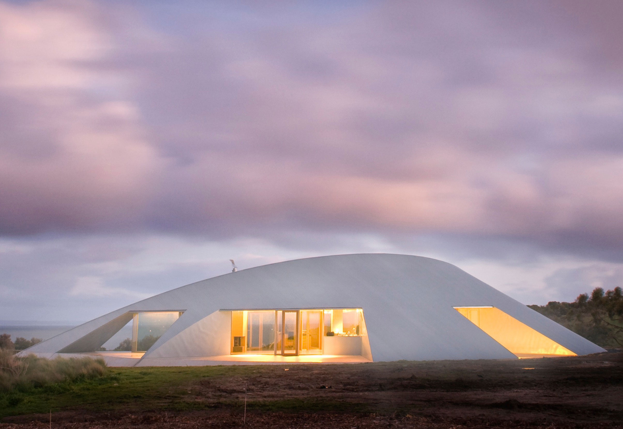 австралийский дом в гармонии с природой