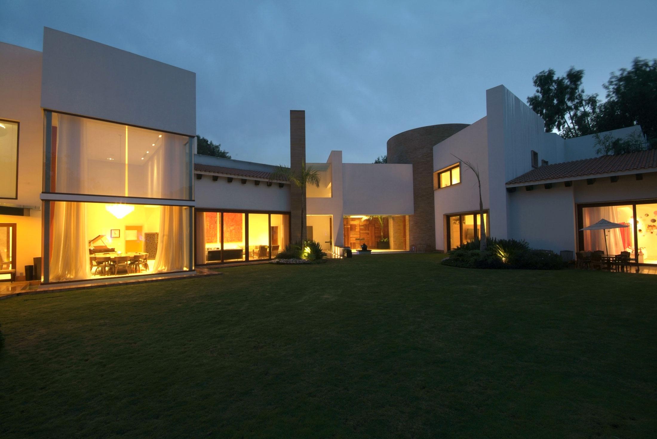 дом casa moro в мексике