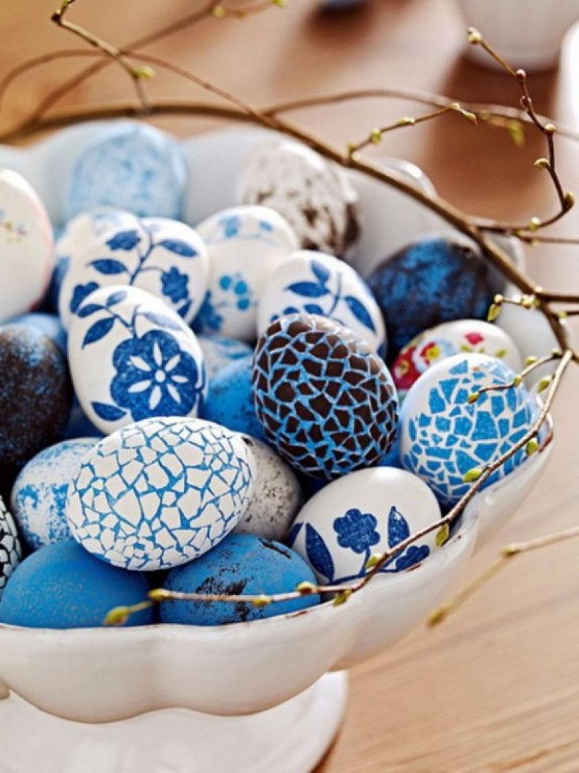 малюнки пасхальних яєць