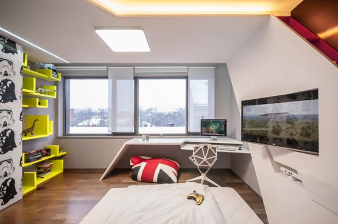 Фото дизайна комнаты для двух парней