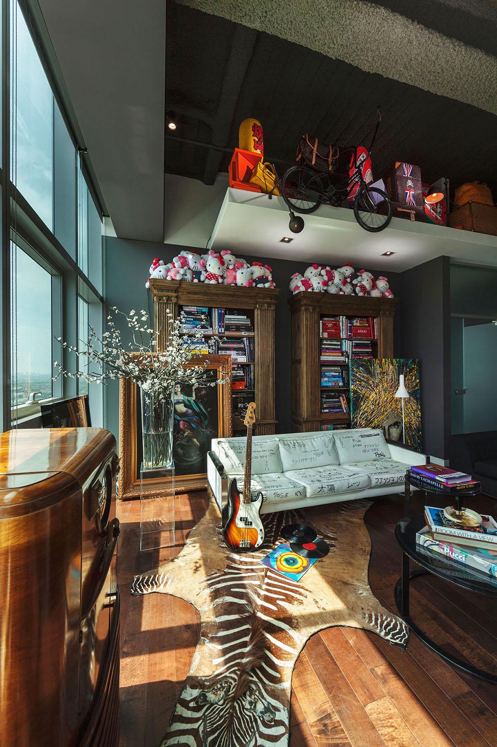 удивительная квартира в Лос-Анжелесе