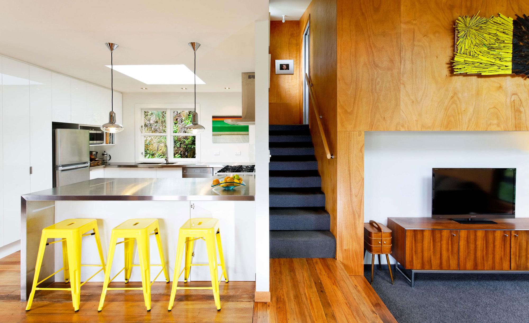 уютный домик в Новой Зеландии