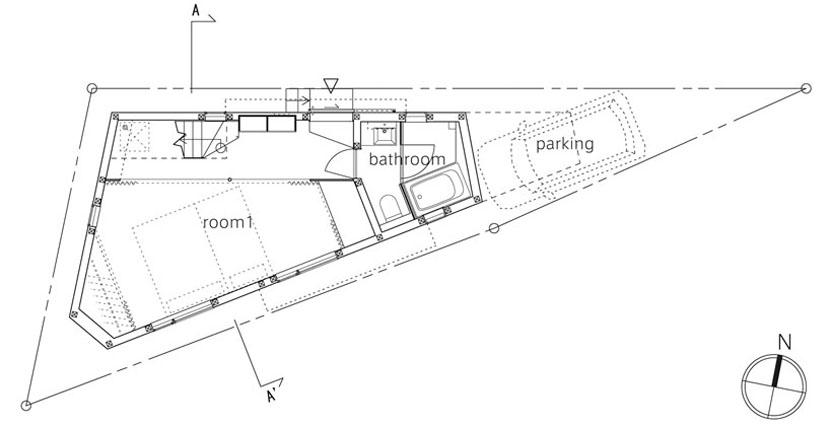 Проект дома на 50 м. кв