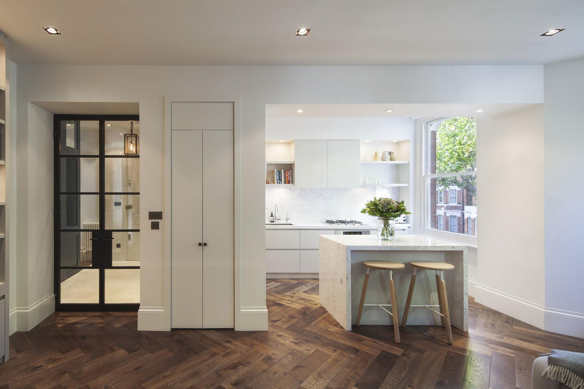 Квартира от дизайнеров De Rosee Sa