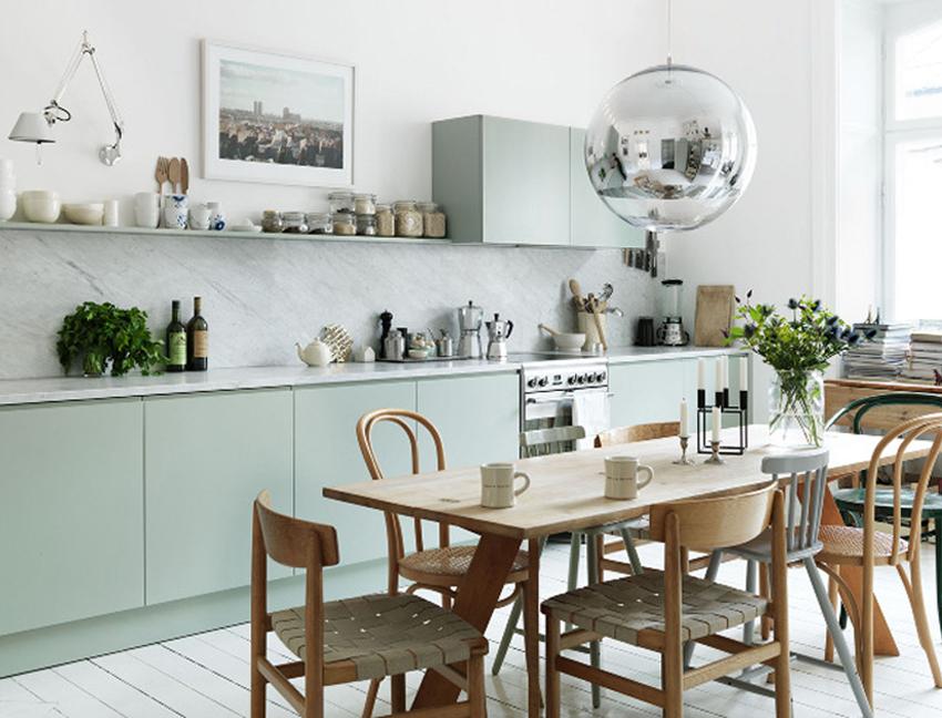 Современная и уютная кухня