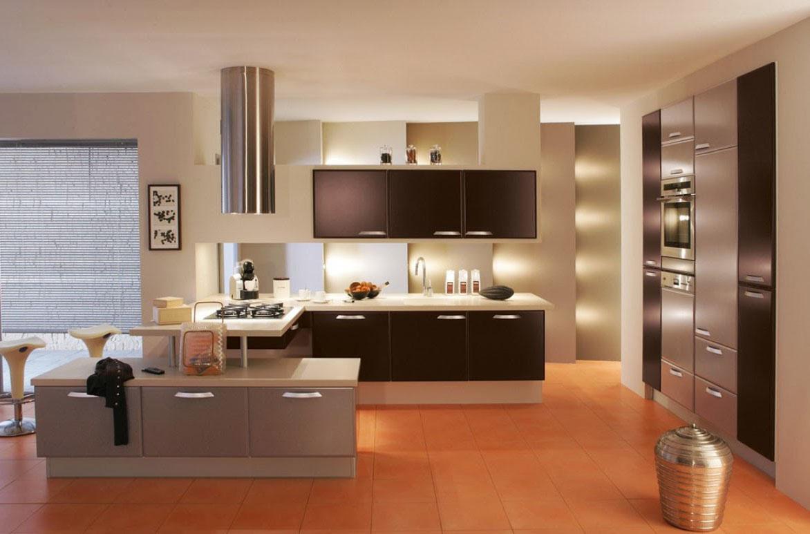 Cовременная и уютная кухня