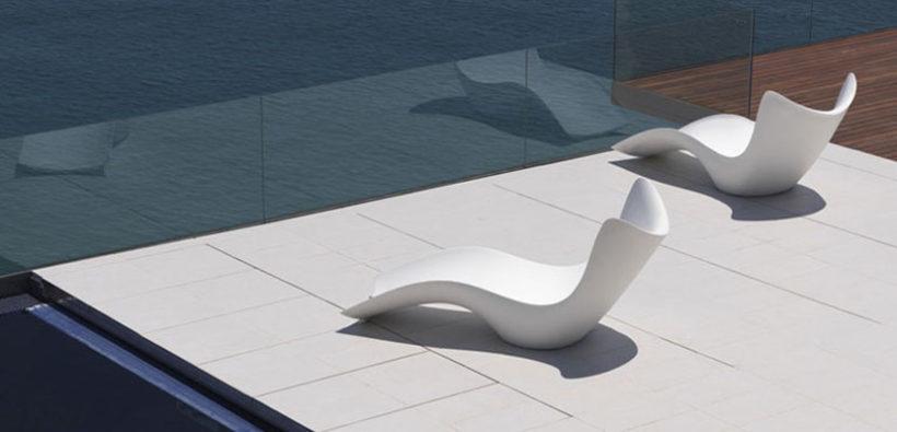 Дизайнерские шезлонги Surf Tumbon