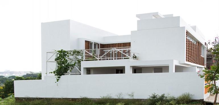 Многоуровневый дом в Индии