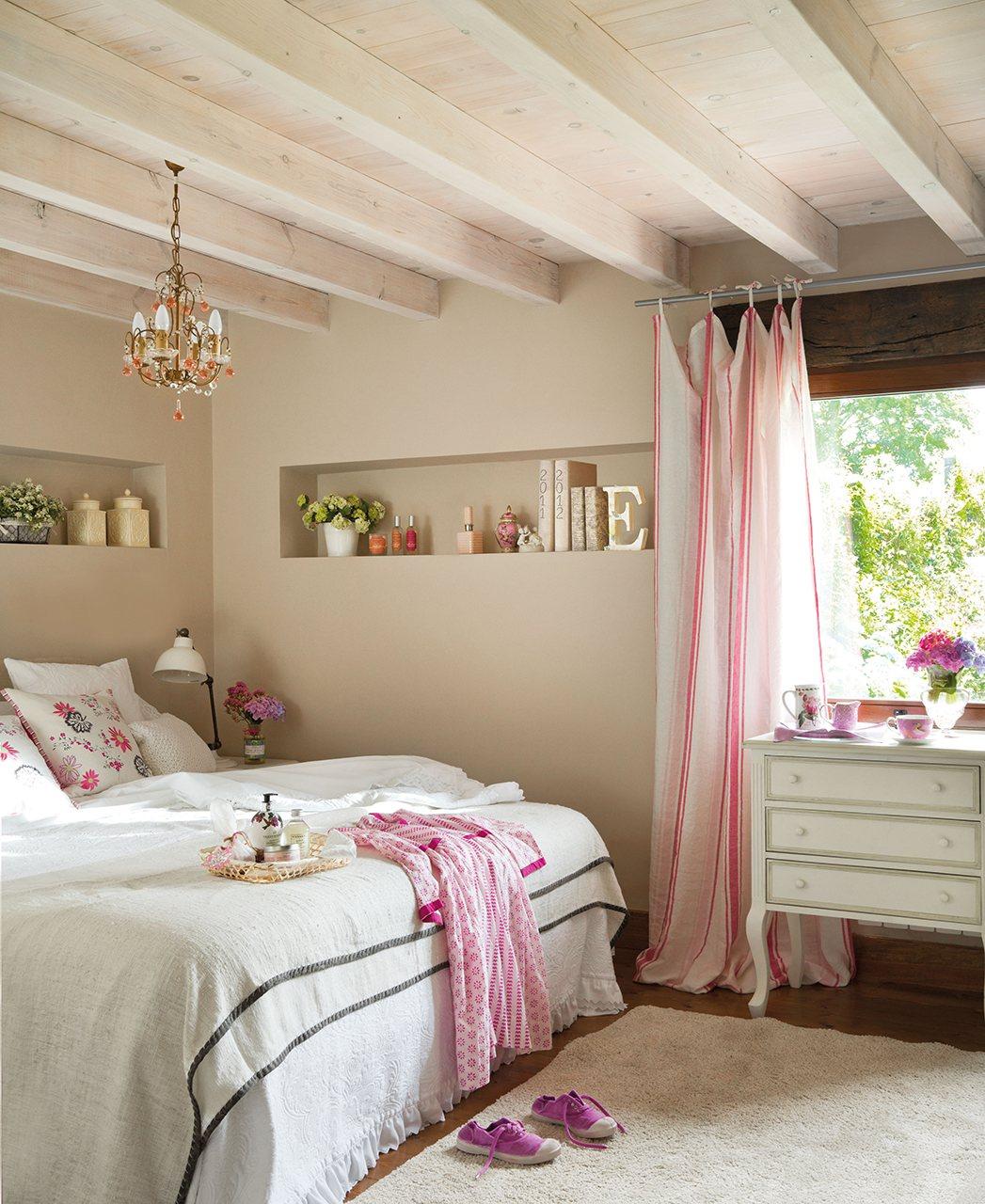 Очаровательный интерьер для маленьких спален-12