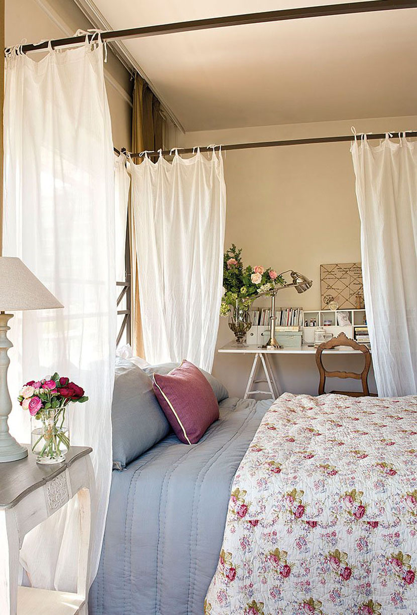 Очаровательный интерьер для маленьких спален-6