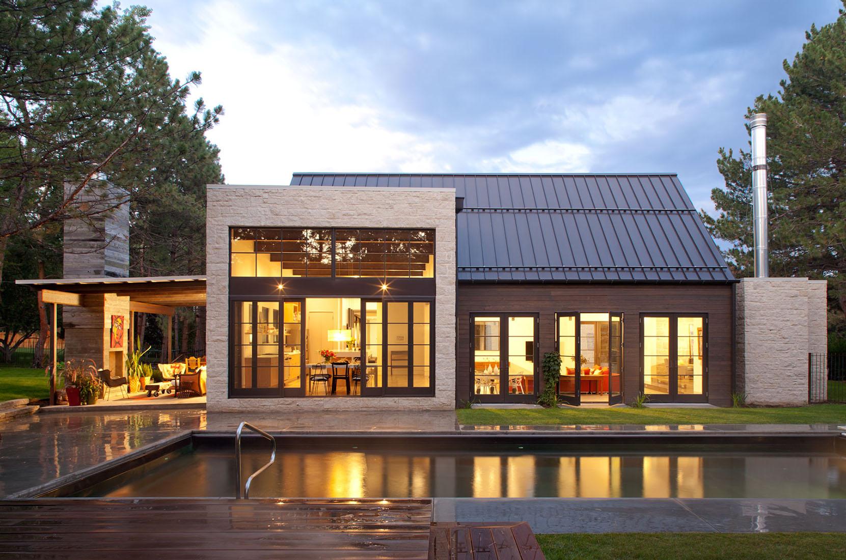 Просторный дом в Колорадо