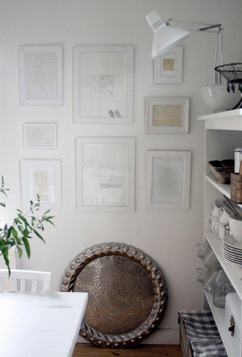 рецепты на стене