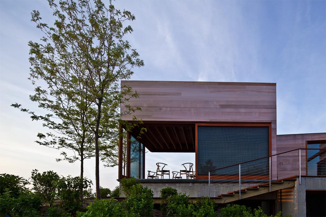 Эко-резиденция на острове