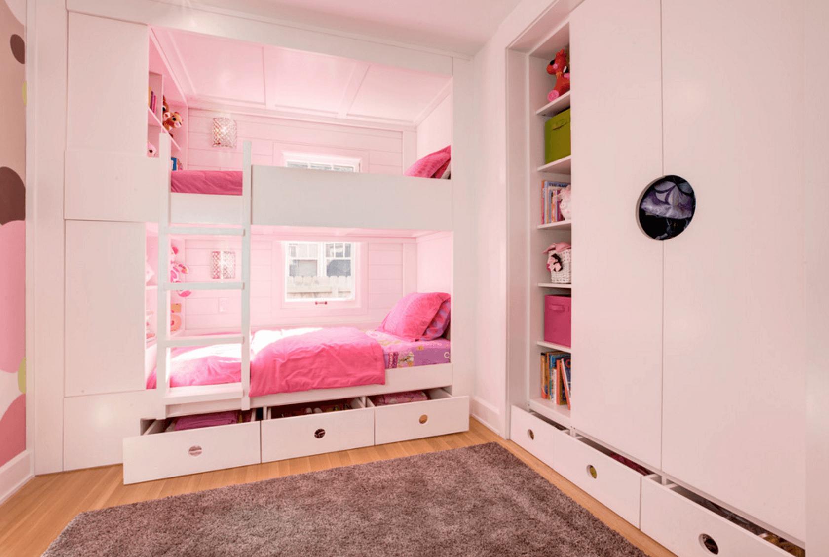 Очаровательные идеи для спальни девочки