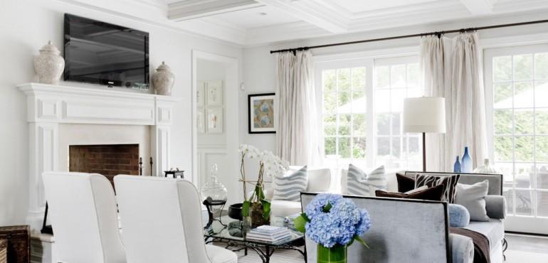 Классический дом с элегантным интерьером
