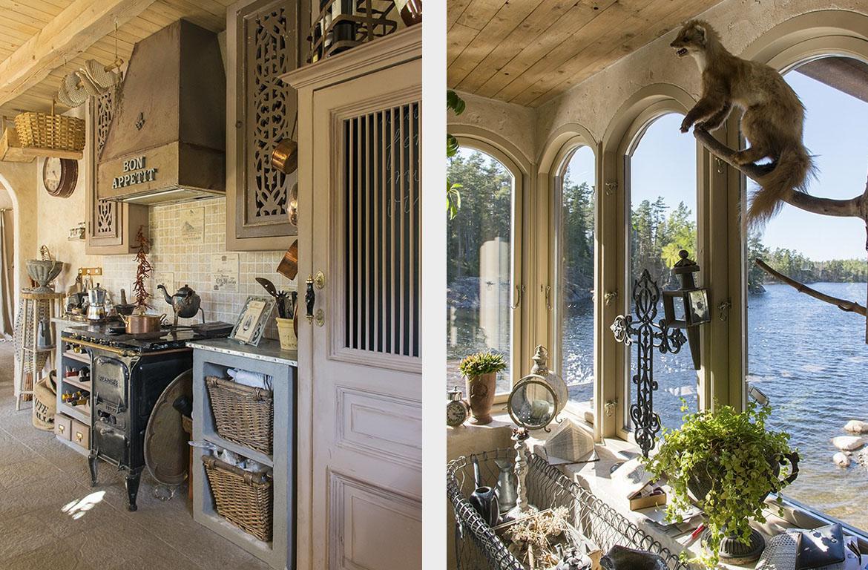Очаровательный дом в заколдованном саду-19