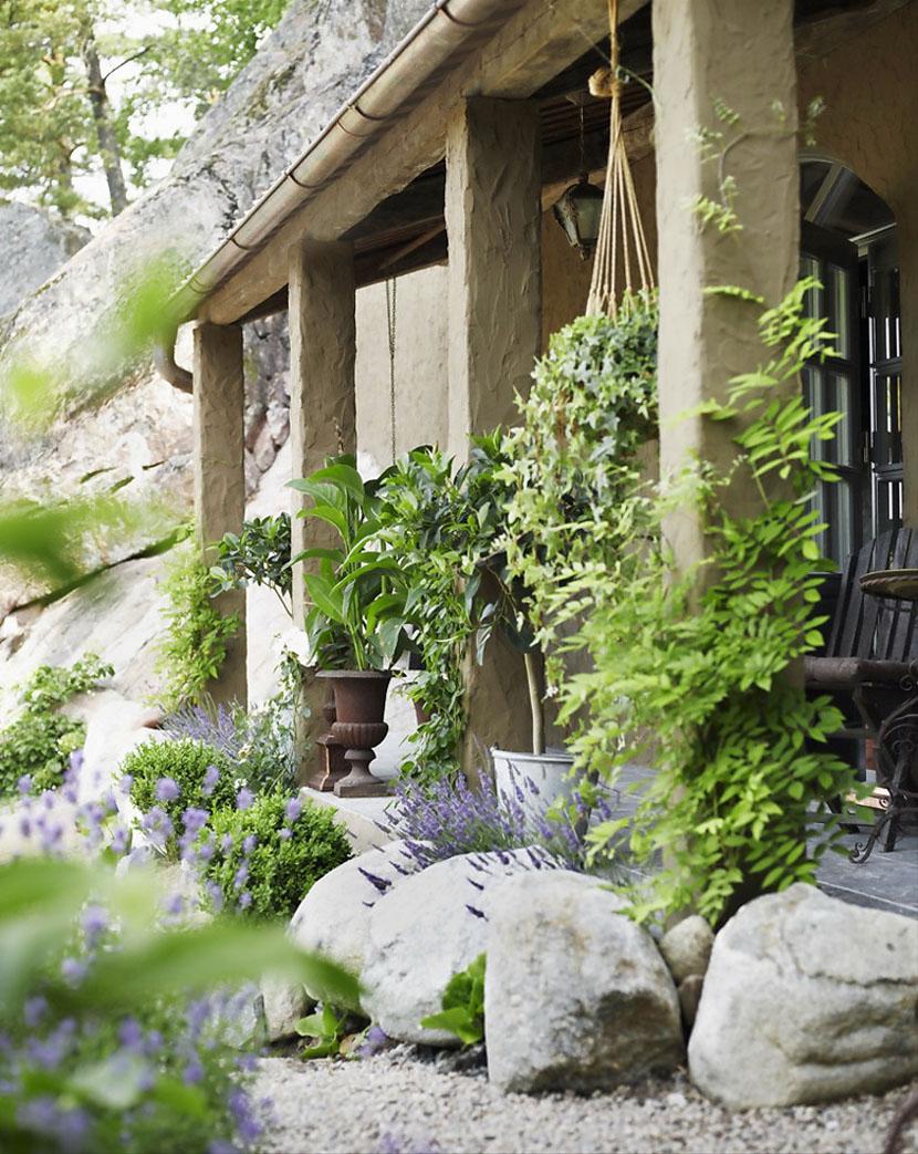 Очаровательный дом в заколдованном саду-3