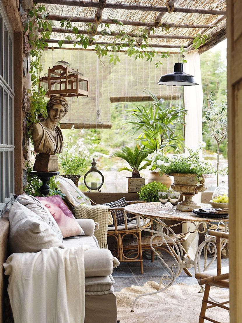 Очаровательный дом в заколдованном саду-5