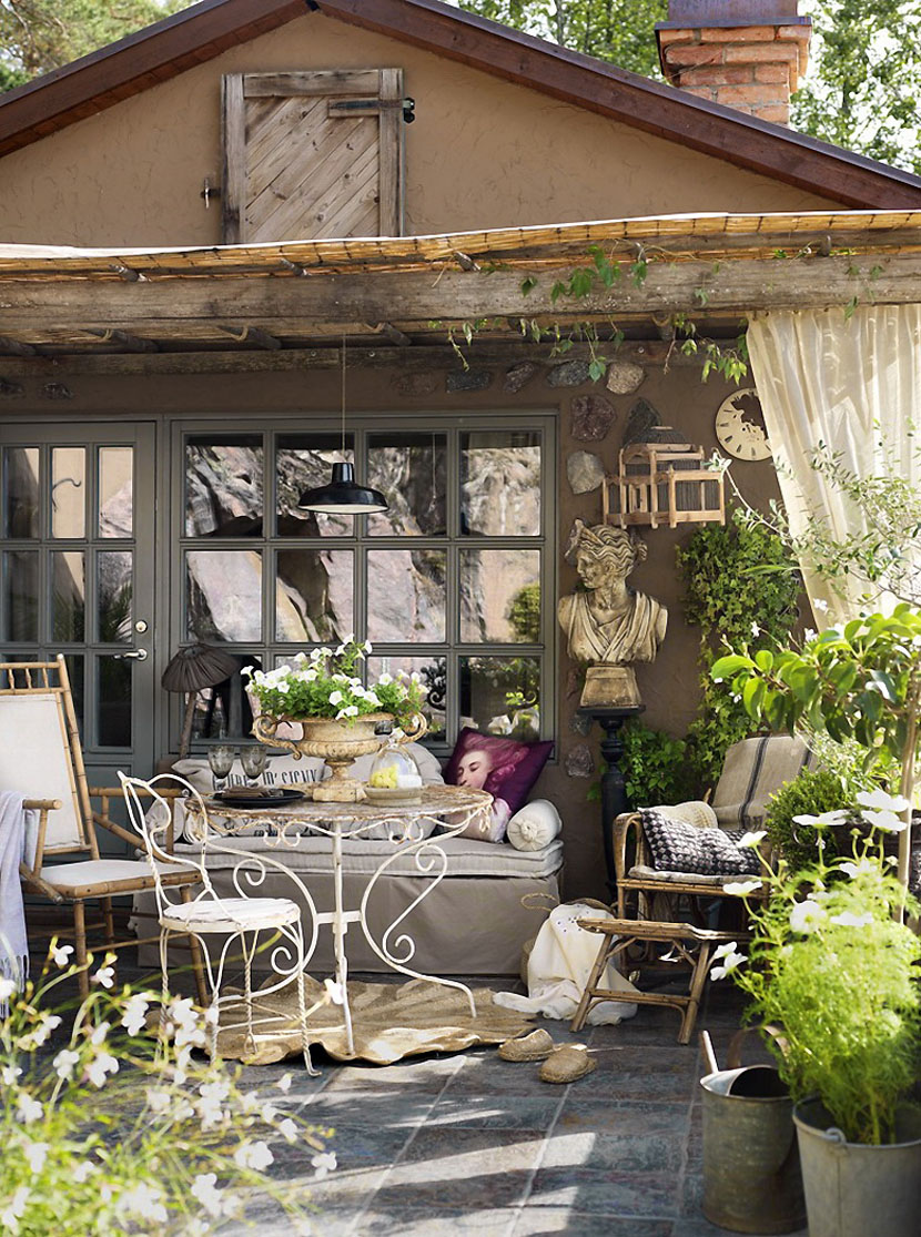 Очаровательный дом в заколдованном саду-6
