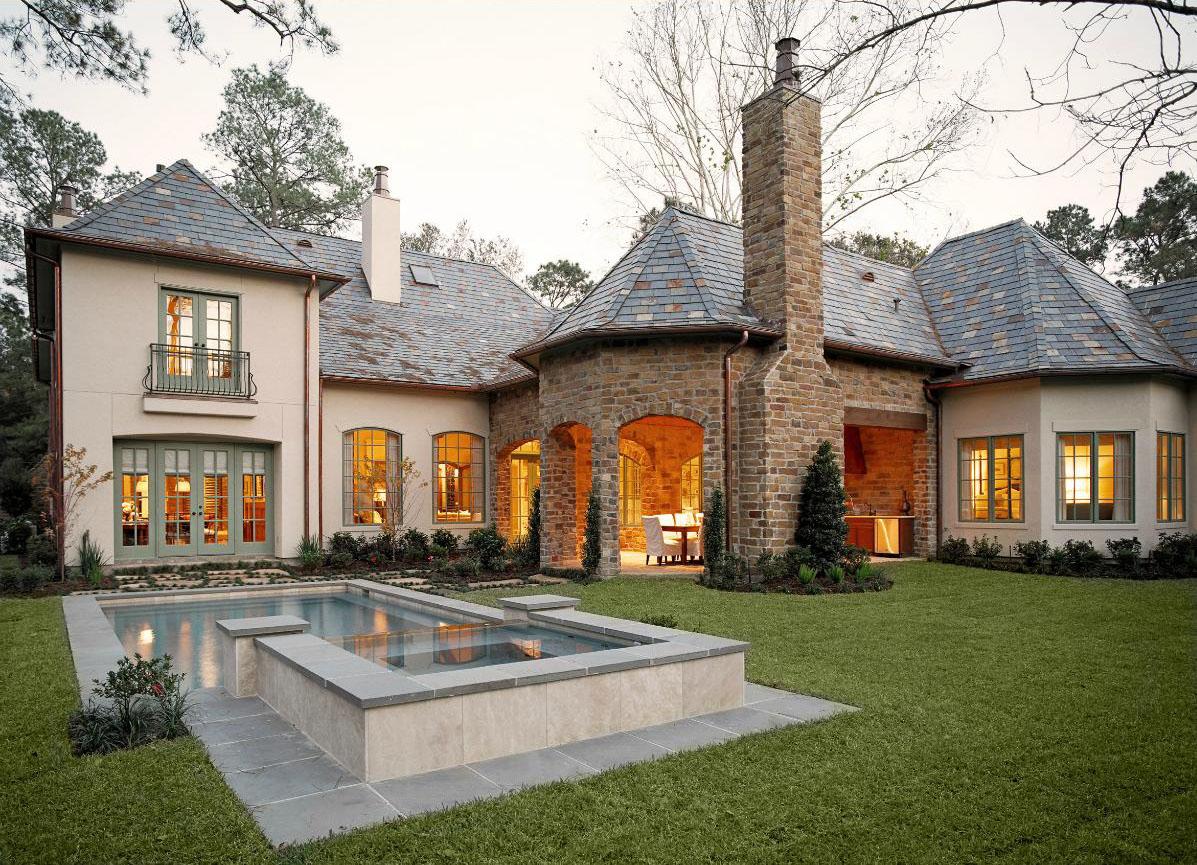 французский дом
