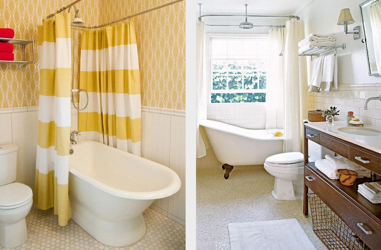 15 незатратных решений для обновления ванной комнаты