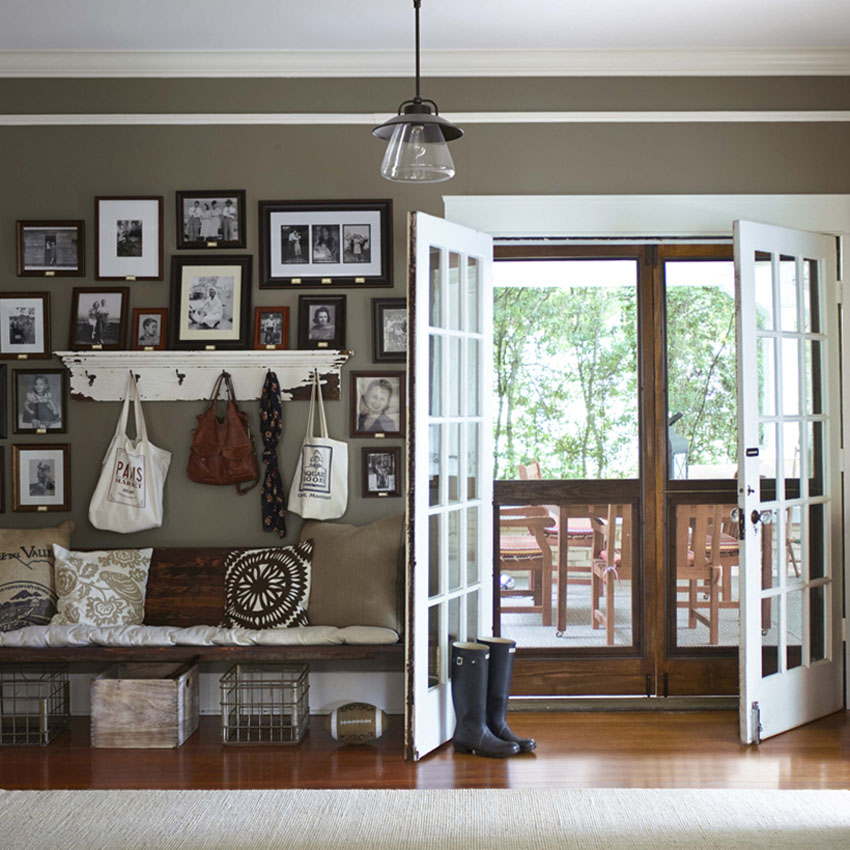 интерьеры частных домов фото