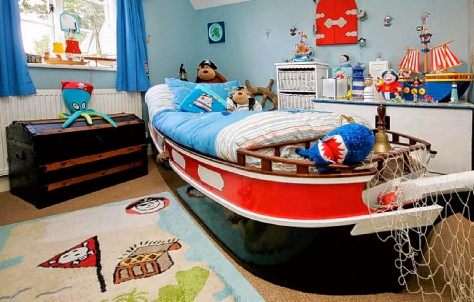 Детская комната в морском стиле-1