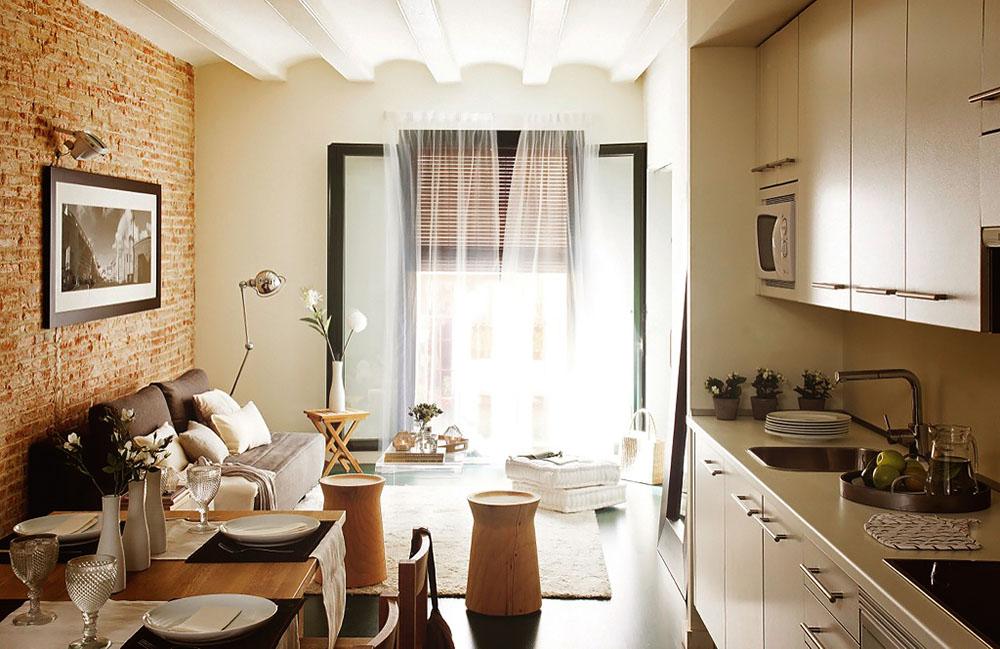 Дизайн квартиры в 50 м2