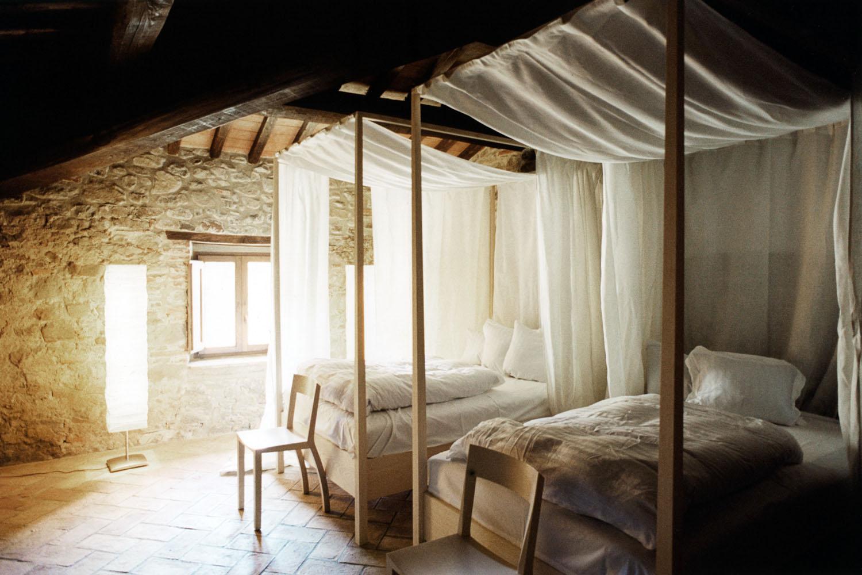 спальня в замке
