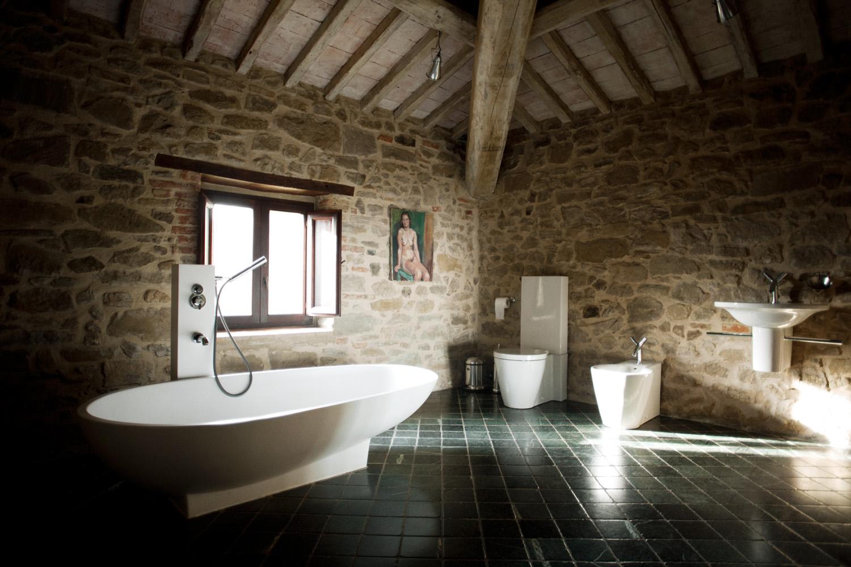 ванная комната в замке