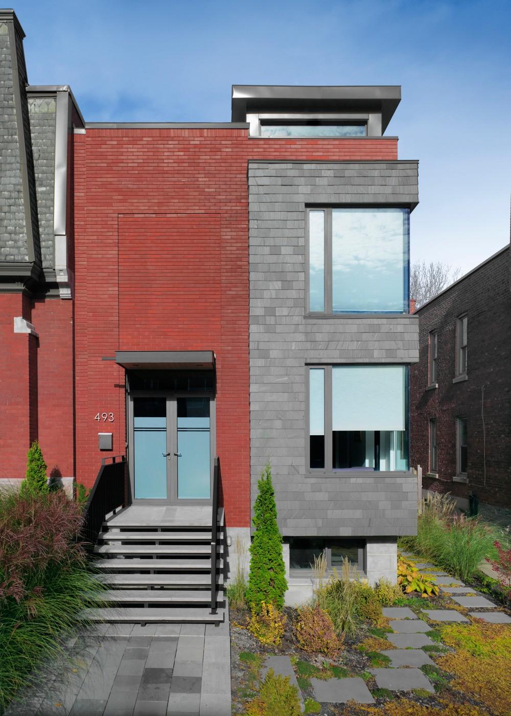 Современный lansdowne house в монреале