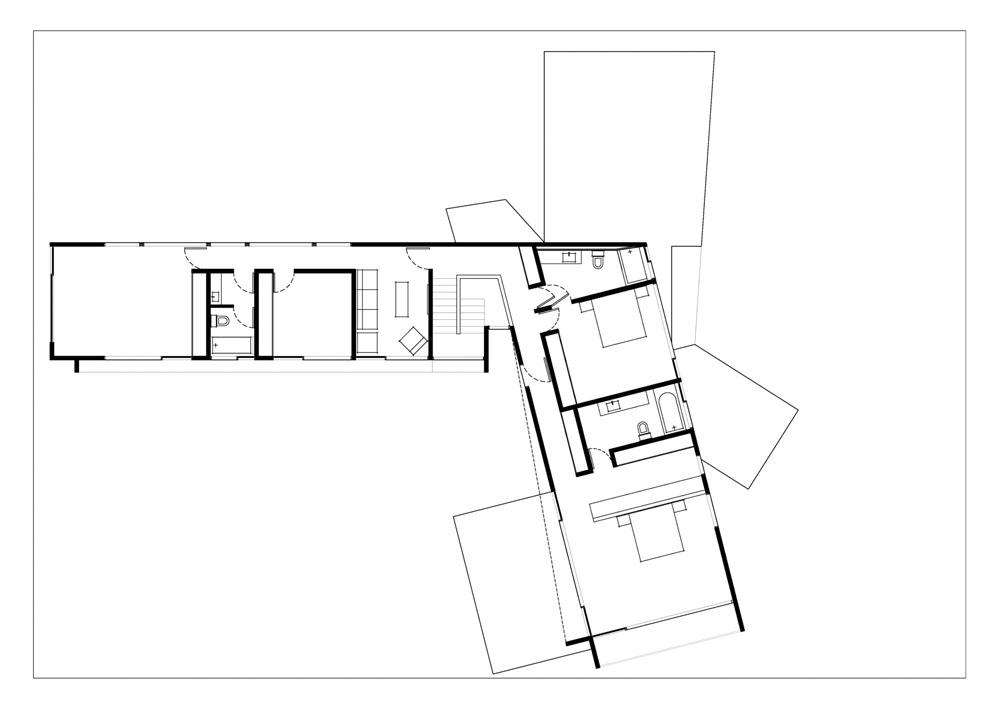 проект дома чертеж
