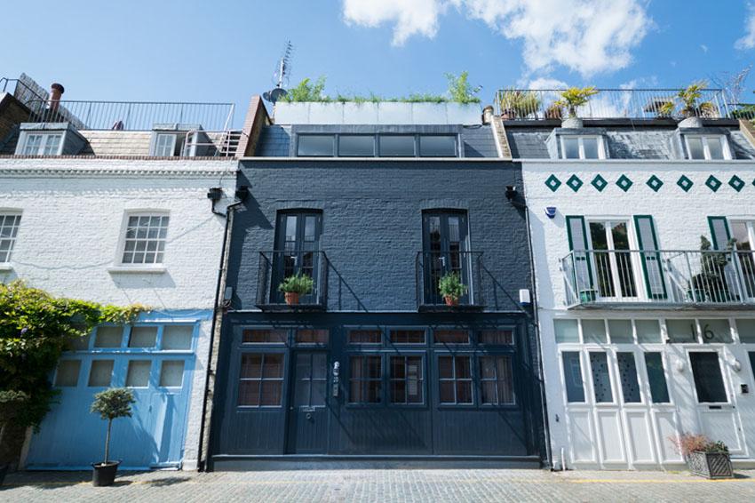 Черный дом из Лондона