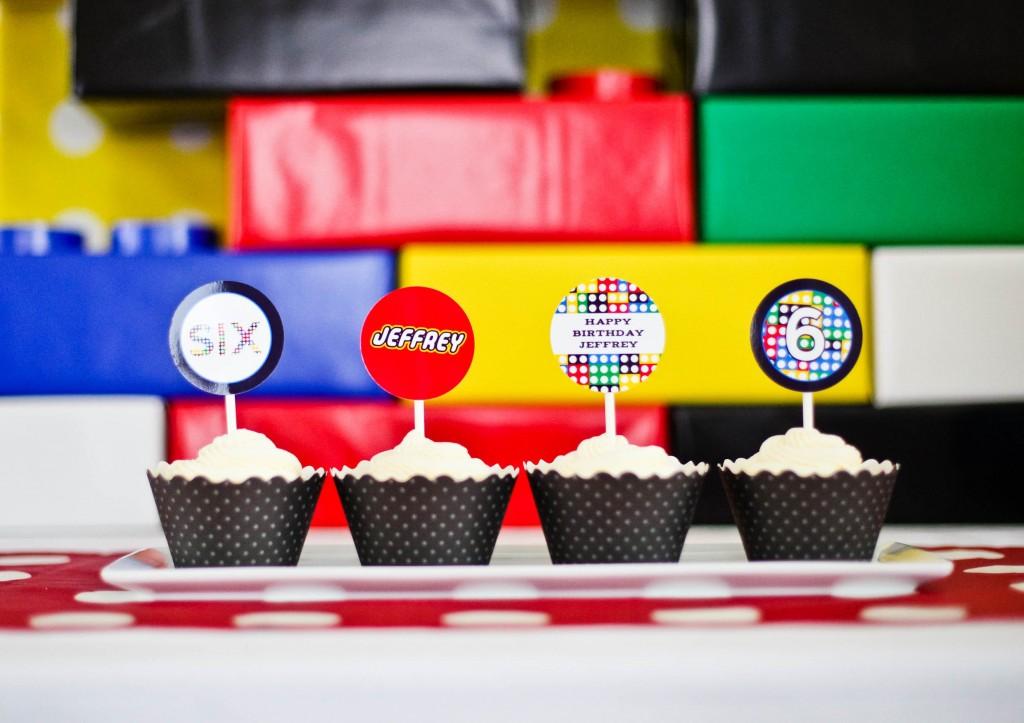 День рождения в стиле LEGO