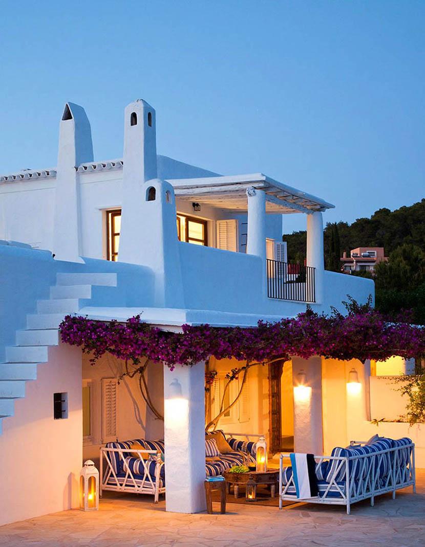Дом, окутанный романтикой, на Ибице