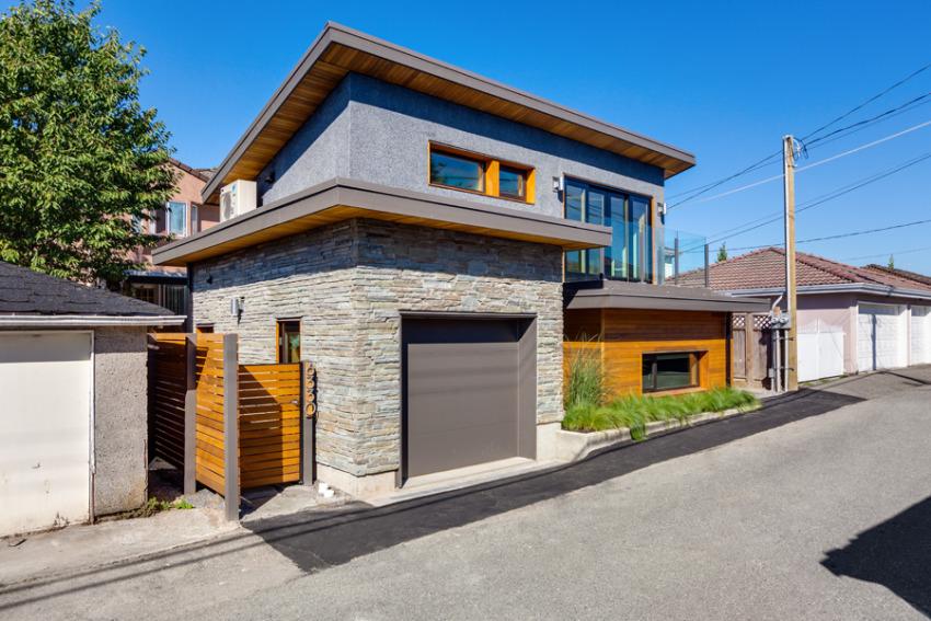 Эко-дом в Ванкувере