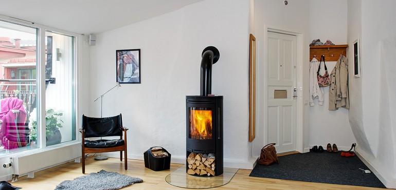 Очаровательная квартира в скандинавском стиле