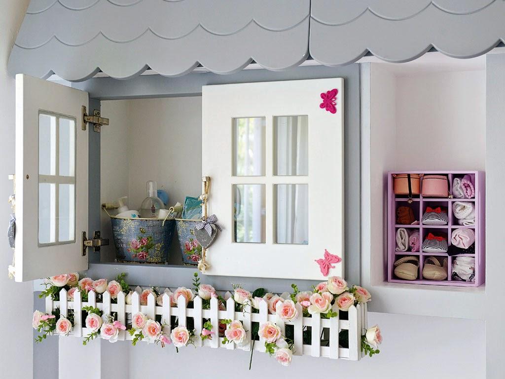оригинальная мебель в детской