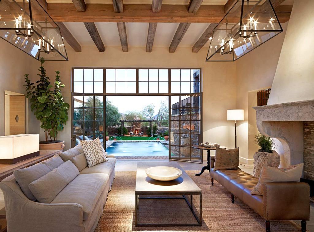 дизайн гостиной в средиземноморском стиле