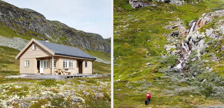 Дом у подножья горы