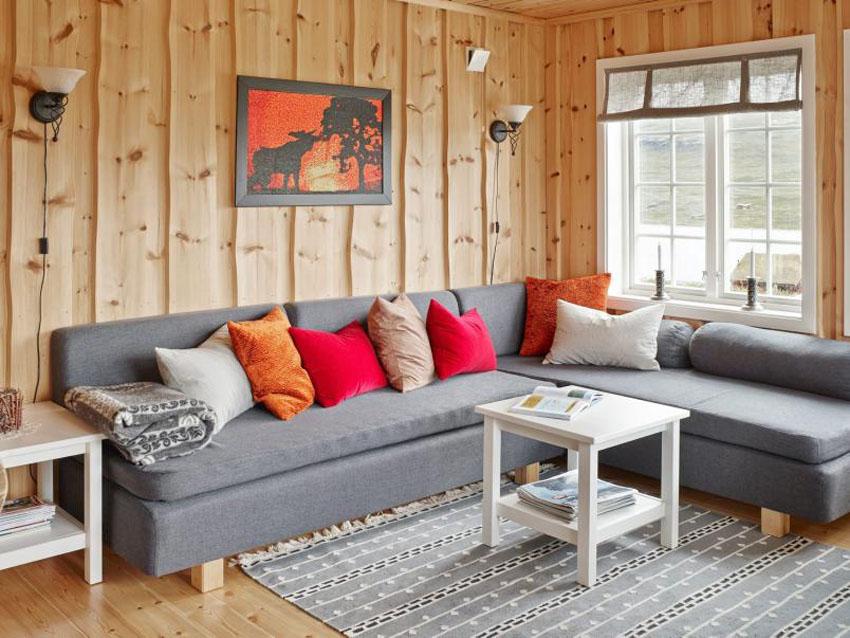 гостиничная в деревянном доме