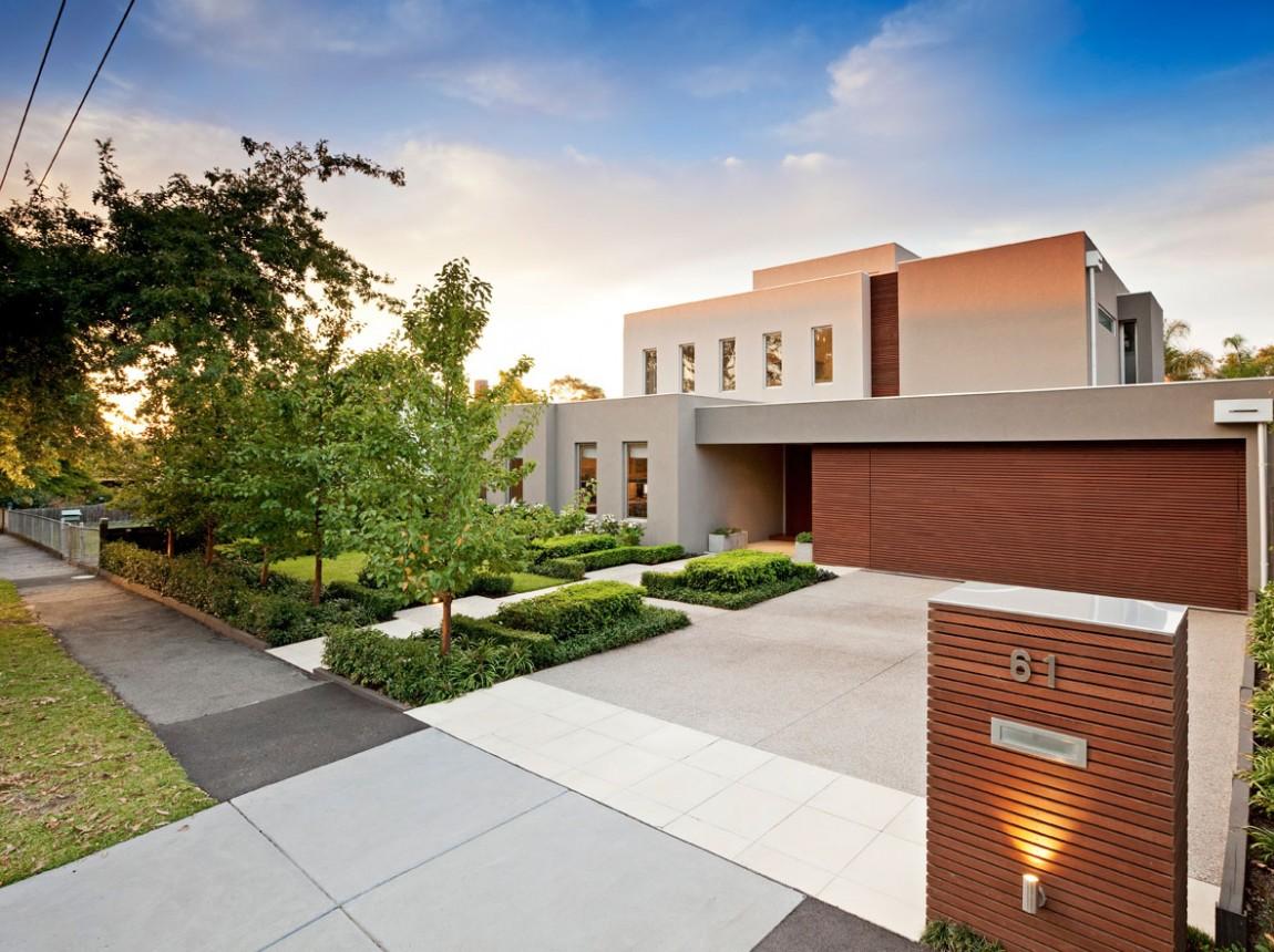 минималистичный дизайн дома