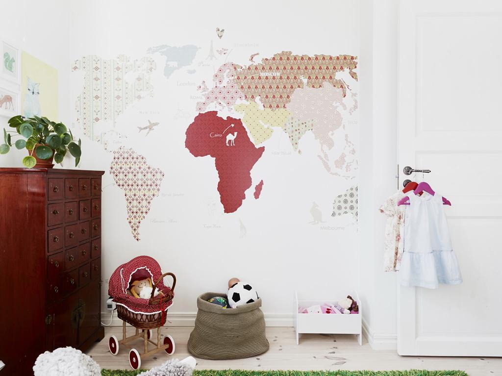 оригинальничая карта мира