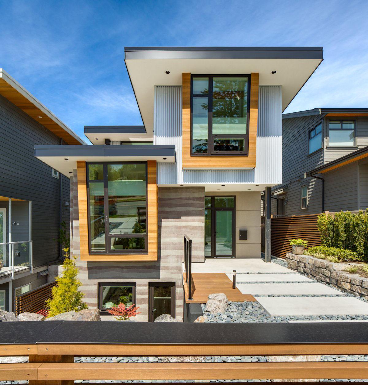 Зеленый дом в Канаде