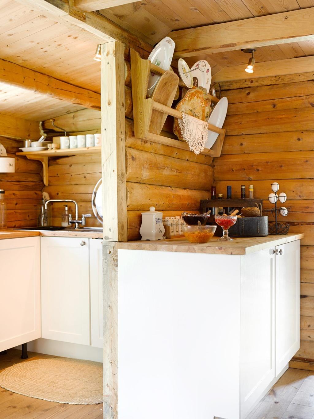 интерьеры деревянных домов фото